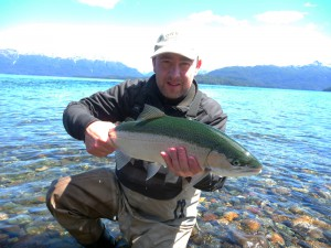 fRainbow trout patagonia argentina